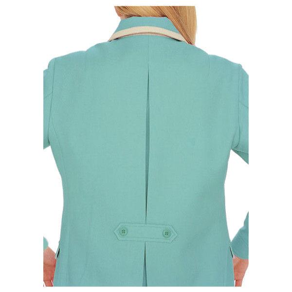 明石スクールユニフォームカンパニー レディース半袖ジャケット ネイビー 17 UN1900-7-17 (直送品)