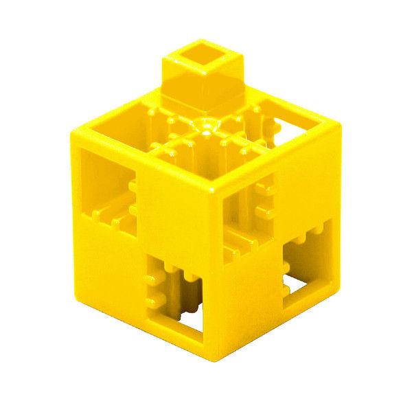 アーテック Artecブロック 基本四角 100P 黄 77846 (直送品)