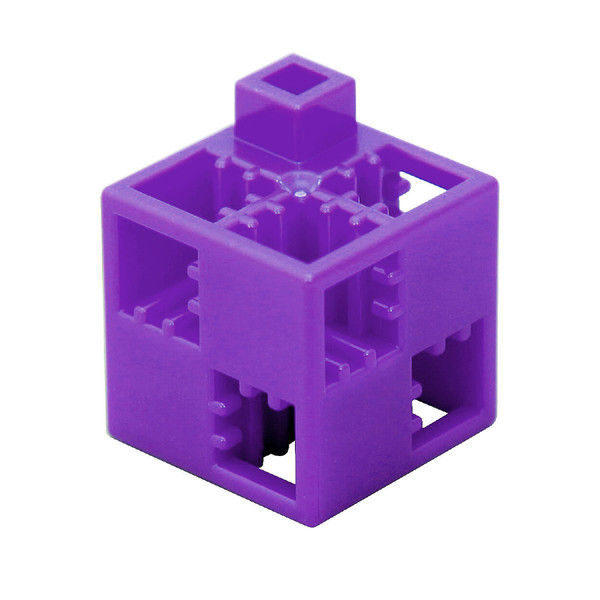 アーテック Artecブロック 基本四角 100P 紫 77853 (直送品)