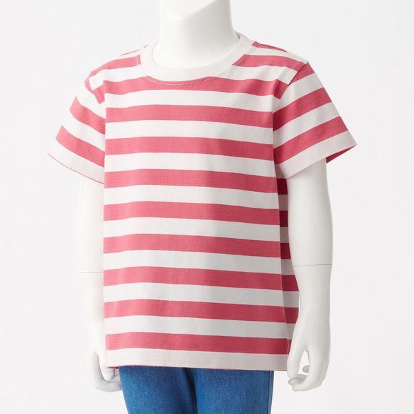 インド綿天竺編みTシャツ ベビー90