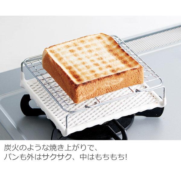 セラミック焼き網炙り焼150×150mm