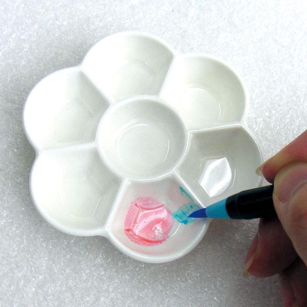 あかしや CA250-P 水彩画用品 ミニパレット 5個 (直送品)