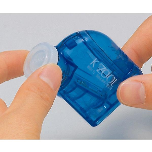 クツワ 鉛筆けずり・ケズール(ブルー) RS007BL 5個 (直送品)