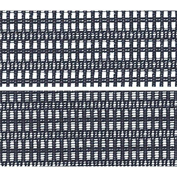 バロン チェア ローバック ランバーサポート 固定肘 背・座スタンダード シルバー×ブラック ダークブルー CP43CS FDH4 (直送品)