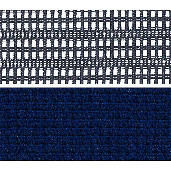 バロン チェア ハイバック ランバーサポートハンガー 可動肘 背スタンダード座クッション ポリッシュ×ブラック ダークブルー CP86BS FDF4 (直送品)