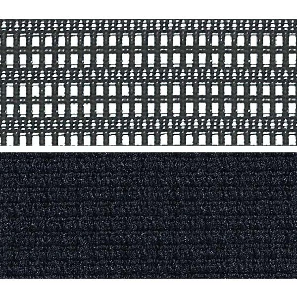 CP86DZ FDF1 バロン チェア ハイバック ランバーサポートハンガー 可動肘 背スタンダード・座クッション シルバー×ホワイト ブラック(直送品)