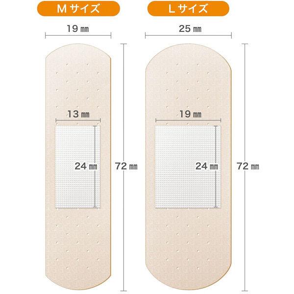 新カットバンA伸縮布Mサイズ32枚×2箱