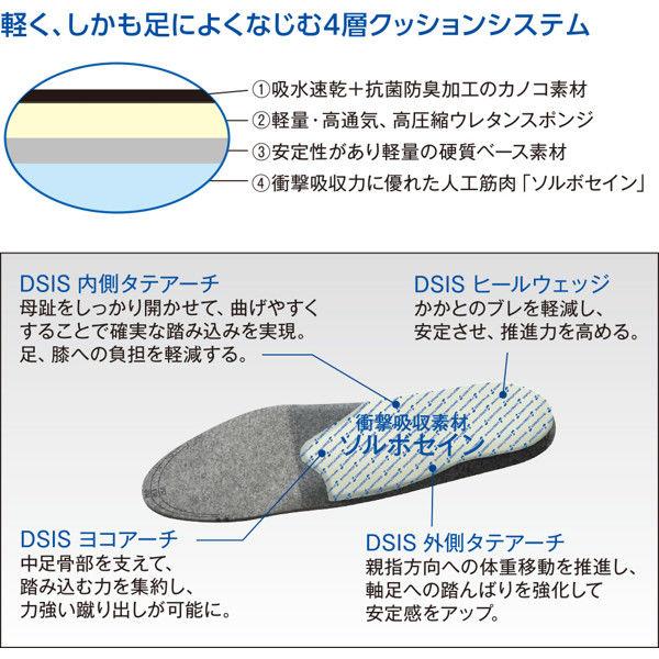 ソルボセイン DSISソルボランニングエア メンズ S 61665 1足 (取寄品)