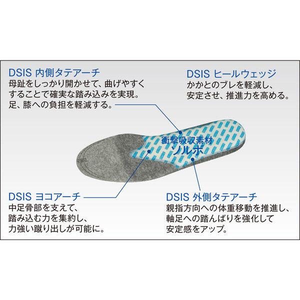 ソルボセイン DSISソルボランニングエア ウィメンズ S 61669 1足 (取寄品)