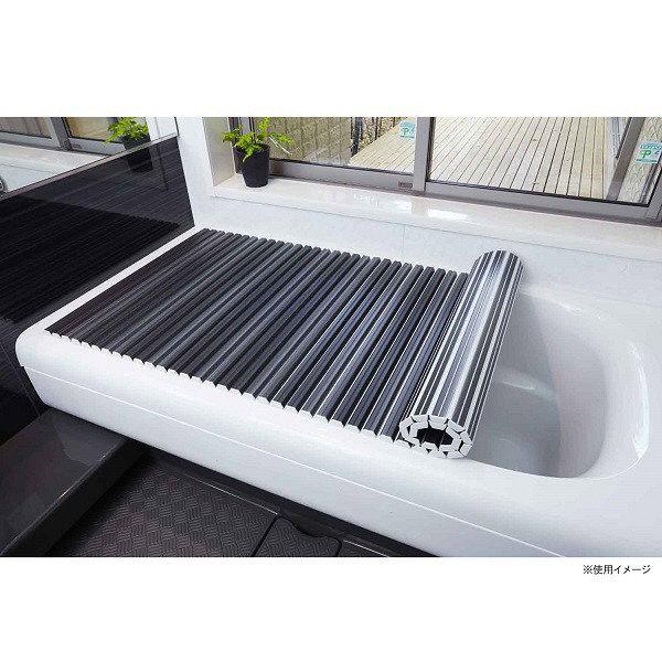 抗菌バスシャッター式風呂蓋 75x140