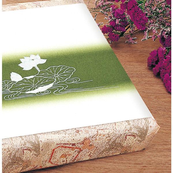 ササガワ 掛紙 本中判 佛 無字 竹 8-467 500枚(100枚袋入×5冊包) (取寄品)