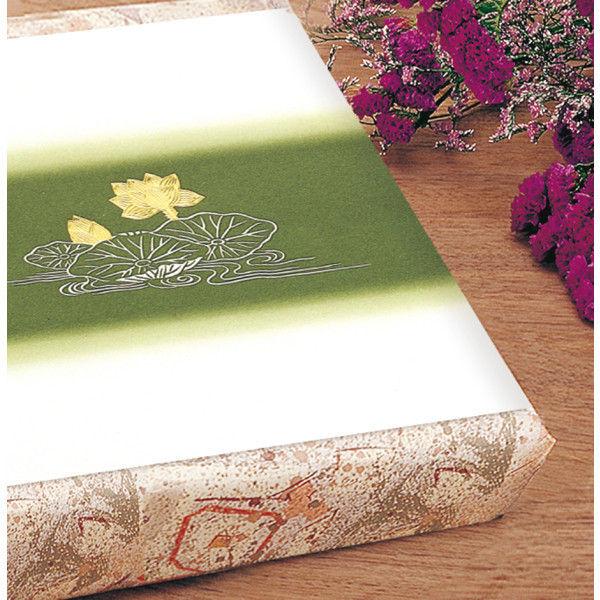 ササガワ タカ印 掛紙 本中判 佛 無字 雪 8-545 500枚(100枚袋入×5冊包) (取寄品)