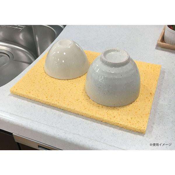 水切りマット キッチン セルローズ 極厚