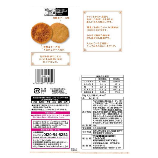岩塚製菓 大人の焦がしチーズ 6袋