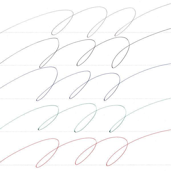 ジェットストリーム4色+シャープ0.38