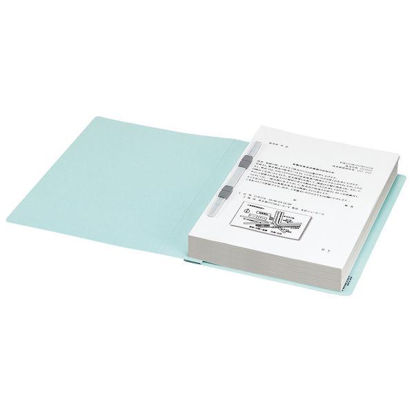 コクヨ フラットファイルX スーパーワイド A4タテ 青 フ-X10B 1セット(50冊:10冊入×5箱)
