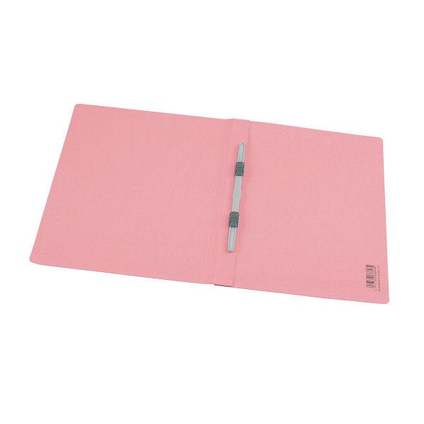 プラス タイトル印刷済みフラットファイル 入札審査申請A4タテ ピンク 30冊