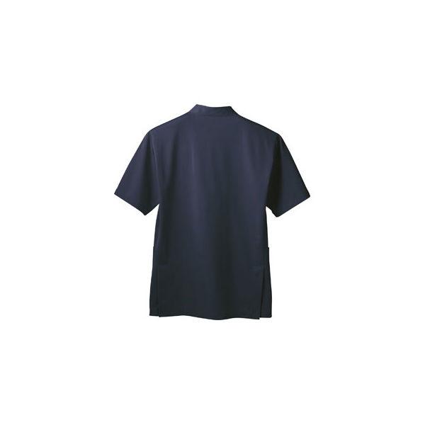 メンズケーシー 半袖 ネイビー 3L