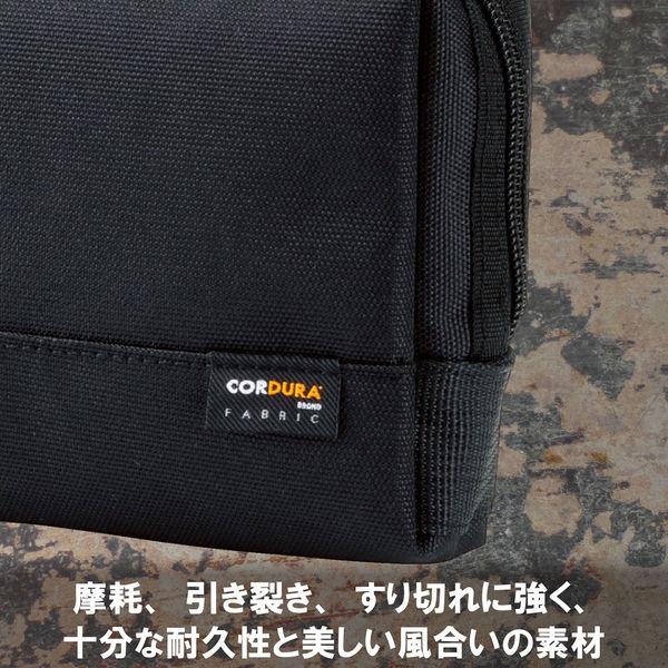 エレコム(ELECOM) ガジェットポーチ/CORDURA(R)1000D/ブラック BMA-CDGP01BK 1個(直送品)