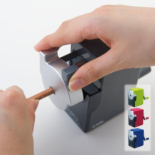 カール事務器 鉛筆削り カラリス グレー CP-100A-D 2個(直送品)