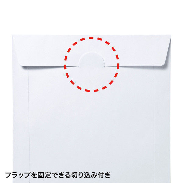 サンワサプライ DVD・CDペーパースリーブケース(窓なしタイプ・50枚入り) 1袋(50枚入り) (直送品)