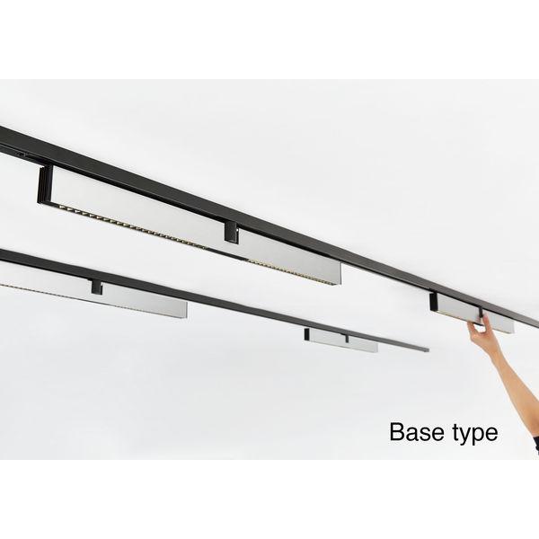 山田照明 Refit(リフィット)ベースタイプ ダクトプラグ LED一体型 シルバー LD-5319-W 1台 (直送品)