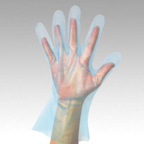 パックスタイル PS ポリグローブライト ブルー 袋入 L 00555012 1包:6000枚(200×30) (直送品)