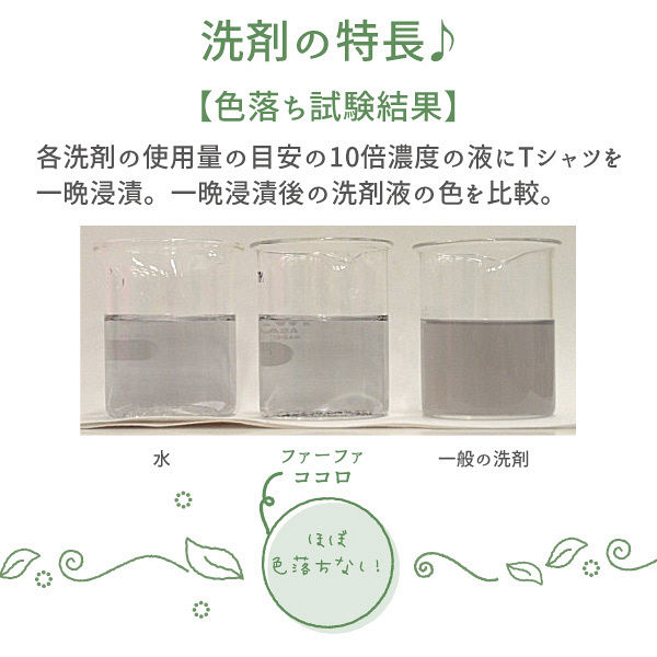 限定デザイン ファーファココロ衣料用洗剤