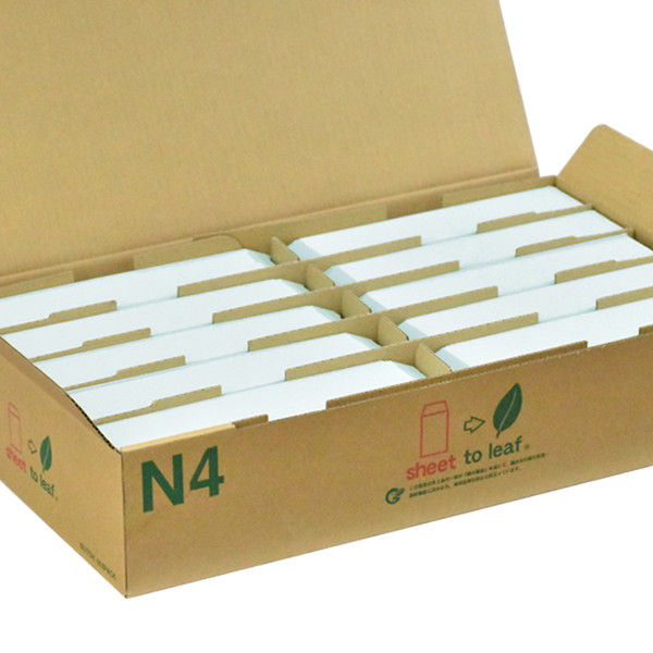 ムトウユニパック カラー封筒 長4 スカイ 枠なし 70g/m2 1箱(1000枚) (直送品)