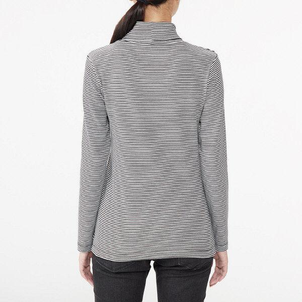 無印 タートルネックTシャツ 婦人 M