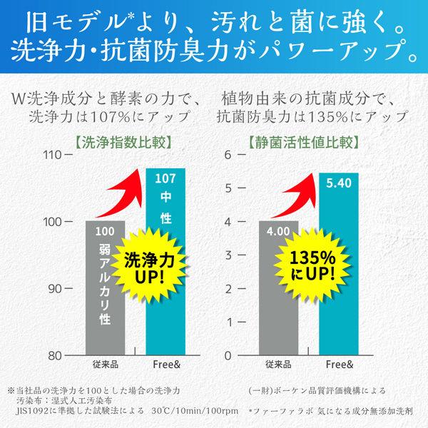 ファーファ フリー&超コン液体洗剤 詰替