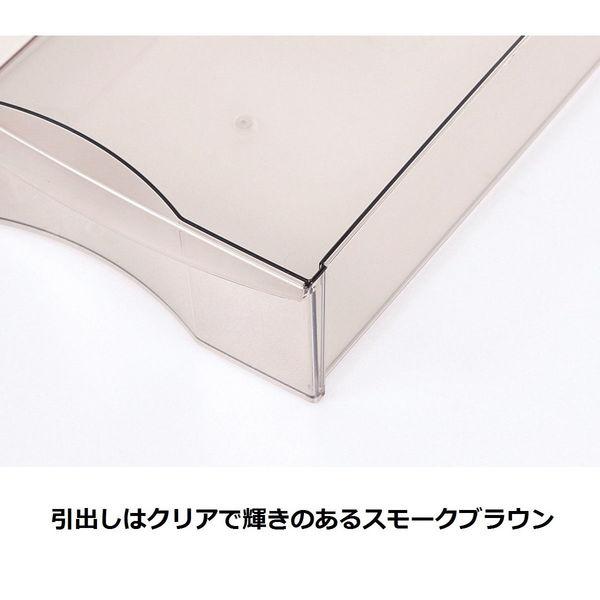 アプロス B4サイズ 浅型10段 アイボリー 1台 JEJ (直送品)