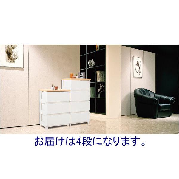 スタイルチェスト 4段 1台 JEJ (直送品)