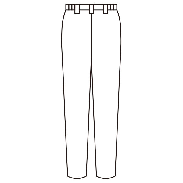 住商モンブラン ナースパンツ レディス サックスブルー(水色) M 73-1355 (直送品)