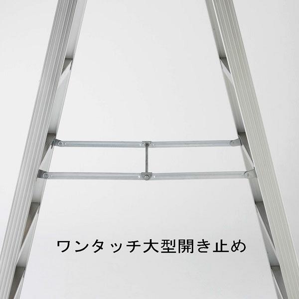 Hasegawa(長谷川工業) アルミ合金 専用脚立 長尺タイプ 9段 (9尺 260cm) XAM2.0-27 1台 (直送品)