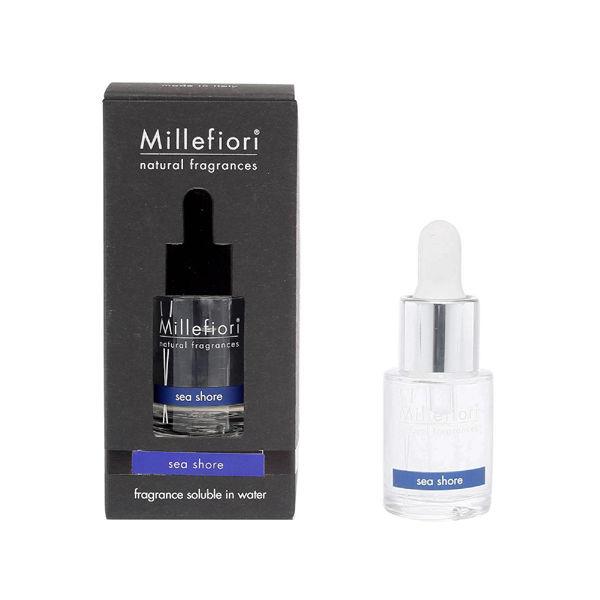 Millefiori 【Natural】 水溶性アロマオイル15ml シーショア 7FI-40-007 1セット(2個) (直送品)