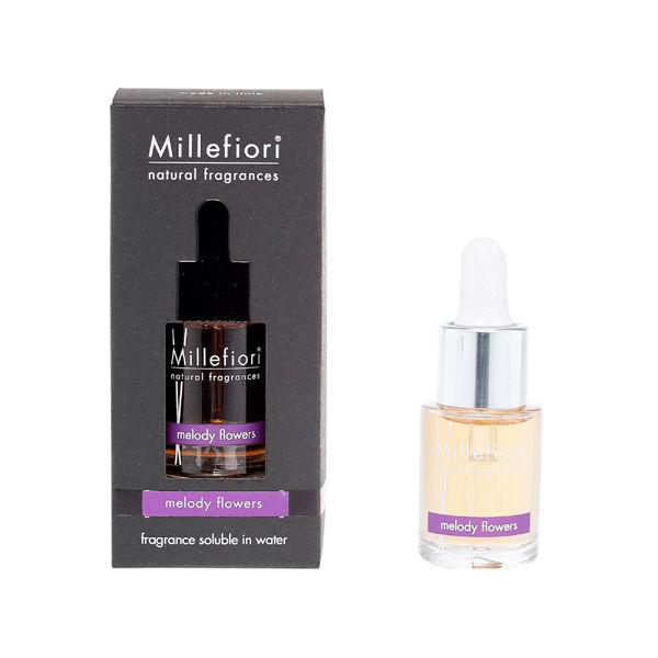 Millefiori 【Natural】 水溶性アロマオイル15ml メロディフラワー 7FI-40-021 1セット(2個) (直送品)
