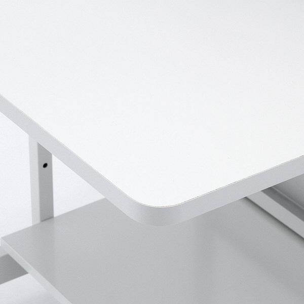 サンワサプライ パソコンラック 幅650×奥行600×高さ1450mm ホワイト (直送品)