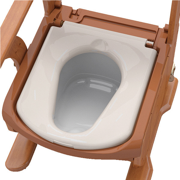アロン化成 安寿 家具調トイレセレクトR ノーマルワイド 標準・快適脱臭 1台 533-859 (直送品)