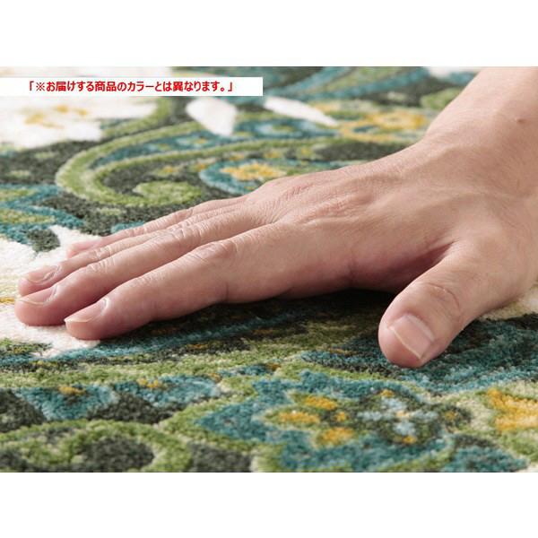 ファミリー・ライフ 抗菌・防臭加工廊下敷 ブラウン 650×1200mm (直送品)