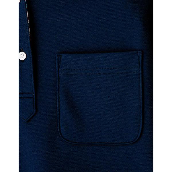 【メーカーカタログ】ボンマックス メンズ吸水速乾ポロシャツ(花柄B) ネイビー S FB5025M 1枚 (直送品)