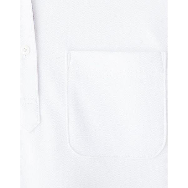 【メーカーカタログ】ボンマックス メンズ吸水速乾ポロシャツ(花柄A) ホワイト S FB5024M 1枚 (直送品)