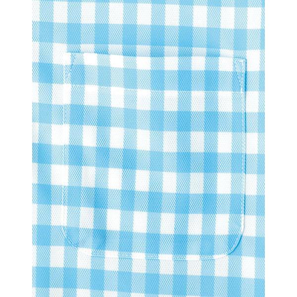 【メーカーカタログ】ボンマックス チェックプリントポロシャツ(半袖) グリーン LL FB4523U 1枚 (直送品)