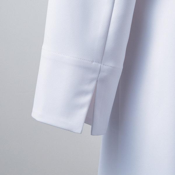 【メーカーカタログ】 住商モンブラン レディスドクターコート ホワイト 3L LW101-11 1枚  (直送品)