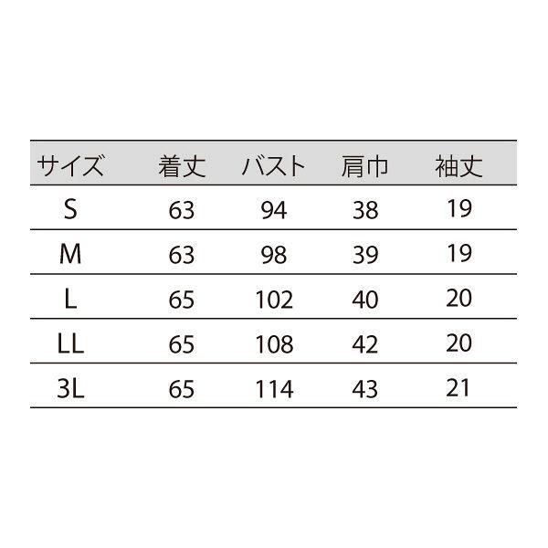 住商モンブラン レディスニットシャツ オフ白×アメリブルー 3L LW203-13 (直送品)