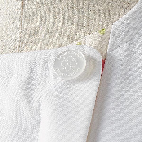 住商モンブラン ローラアシュレイ ナースジャケット レディス 半袖 オフホワイト×アメリピンク 3L LW802-12 (直送品)