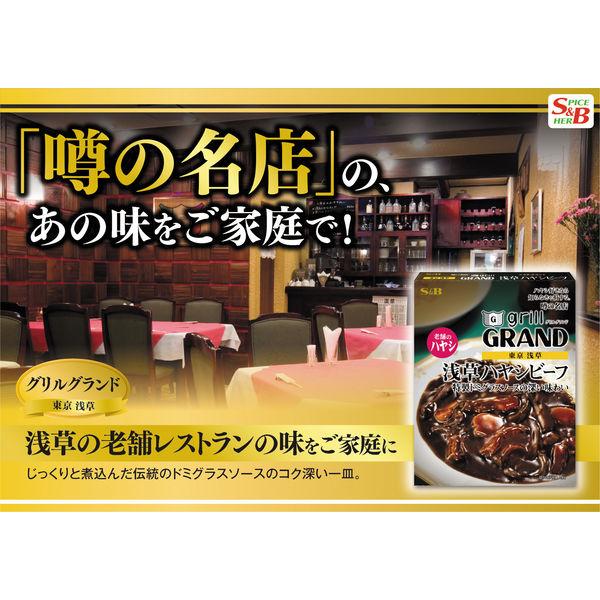 S&B 噂の名店 浅草ハヤシビーフ 2箱