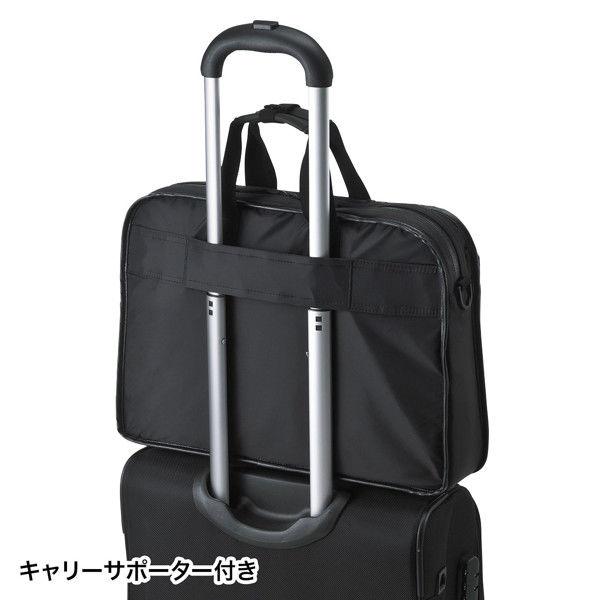 サンワサプライ 超撥水・軽量PCバッグ BAG-LW9BK (直送品)