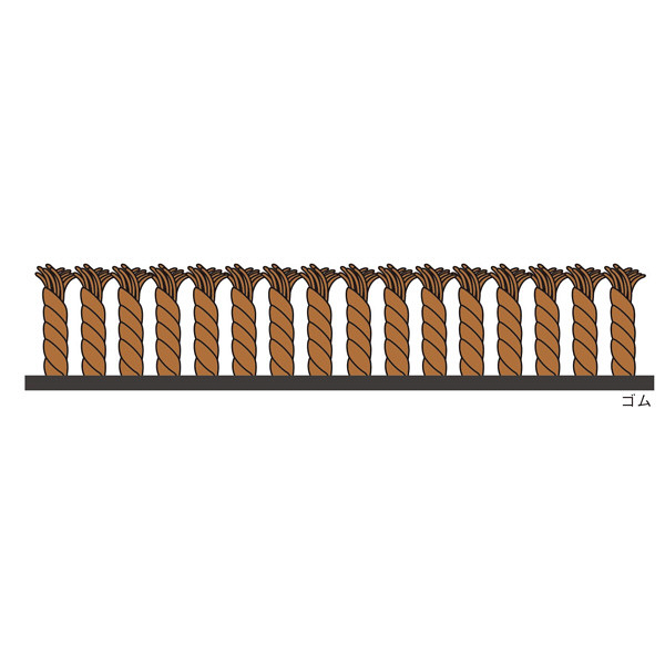スタンダードマットS チョコレート・ブラウン 120×300cm (直送品)
