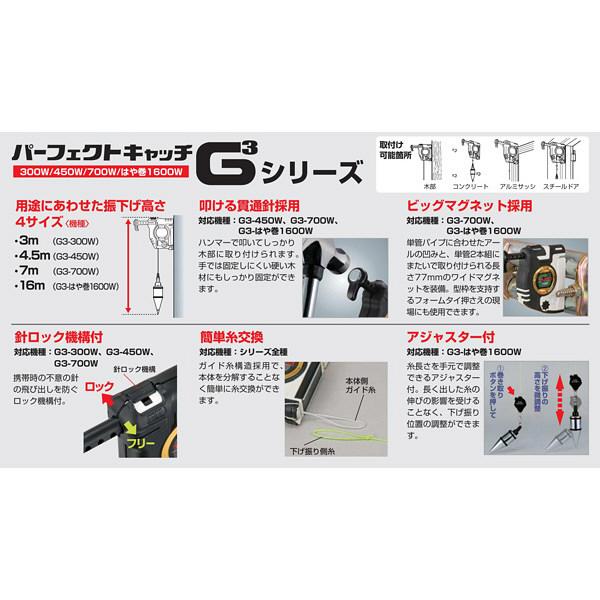 パーフェクトキャッチG3-450ブルー PCG3-450B 1セット(3台) TJMデザイン (直送品)